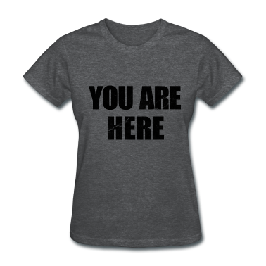 You Are Here Entourage Lennon Women's T-Shirts