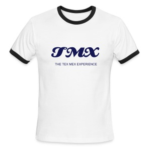 TMX BLUE T'S - Men's Ringer T-Shirt