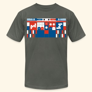 Controlpanel 4 - Men's T-Shirt by American Apparel
