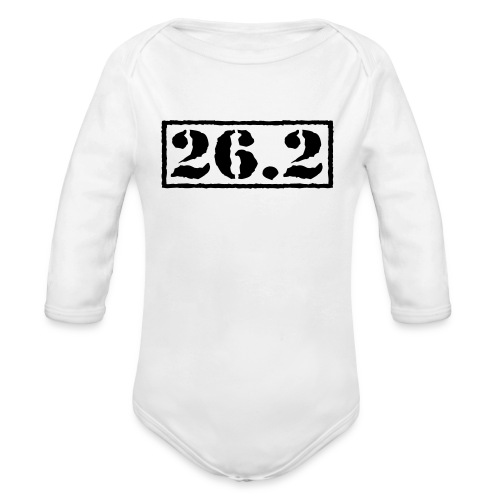 Top Secret 26.2 - Organic Long Sleeve Baby Bodysuit