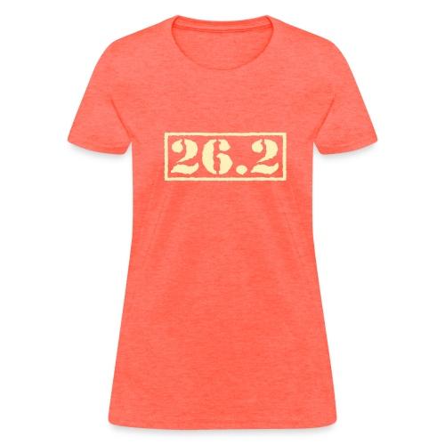 Top Secret 26.2 - Women's T-Shirt