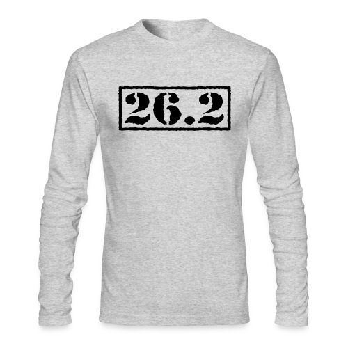 Top Secret 26.2 - Men's Long Sleeve T-Shirt by Next Level