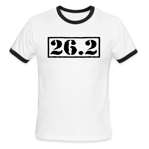 Top Secret 26.2 - Men's Ringer T-Shirt