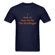 T-Shirts ~ Men's T-Shirt ~ WarBlogler - Orange Text
