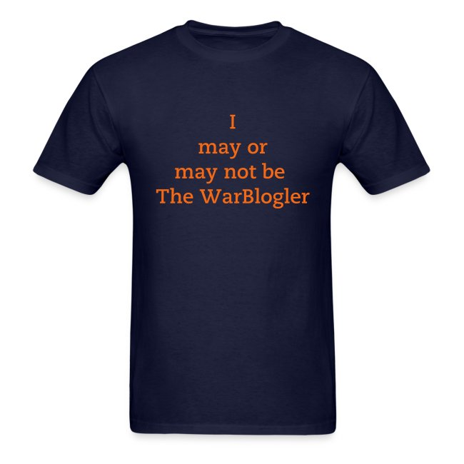 WarBlogler - Orange Text
