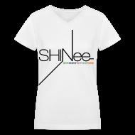 Women's T-Shirts ~ Women's V-Neck T-Shirt ~ [SHINee] 1st Mini (Vneck)
