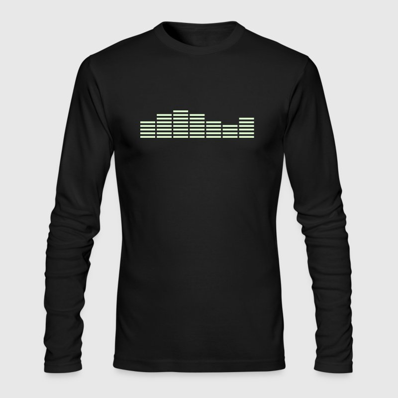 Equalizer Frequency DJ Sound Equalizer Frequency DJ Sound Music Beat Pop Techno discjockey record club electronica danceMusic Beat Pop Techno Long Sleeve Shirts - Men's Long Sleeve T-Shirt by Next Level
