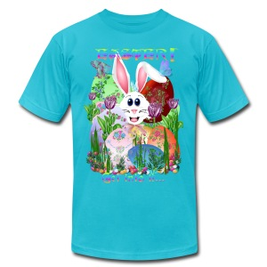 Easter!  Get into it... - Men's T-Shirt by American Apparel