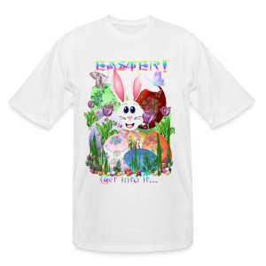 Easter!  Get into it... - Men's Tall T-Shirt