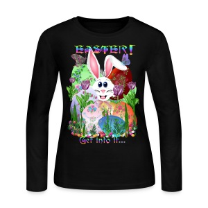 Easter!  Get into it... - Women's Long Sleeve Jersey T-Shirt