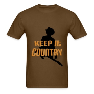 Keep It Country - Men's T-Shirt