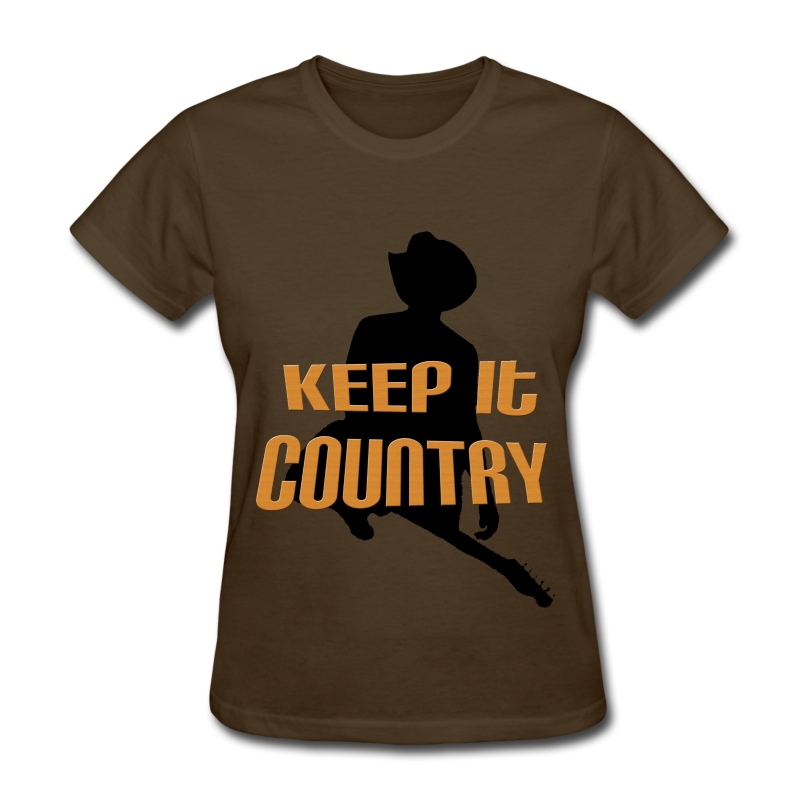 Keep It Country (Ladies) - Women's T-Shirt
