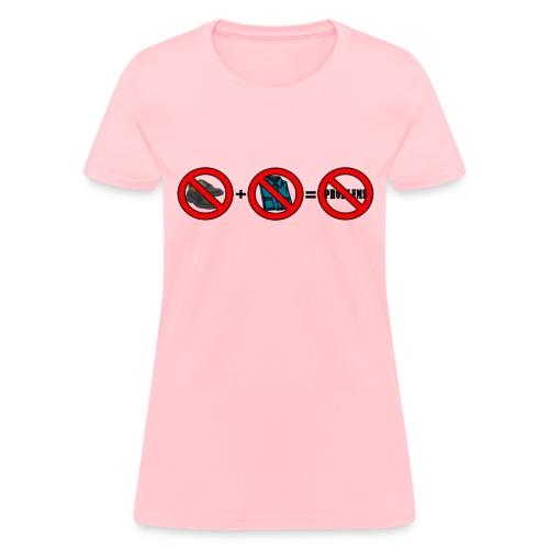 No Shoes No Shirt No Problems (Ladies) - Women's T-Shirt