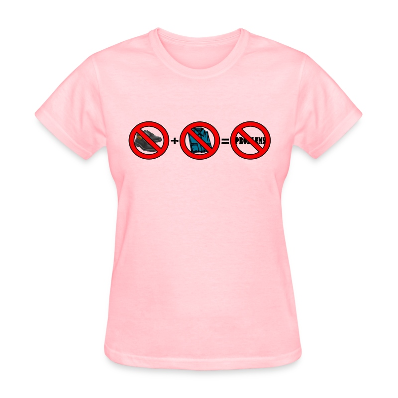 No Shoes No Shirt No Problems (Ladies) - Women's T-Shirt