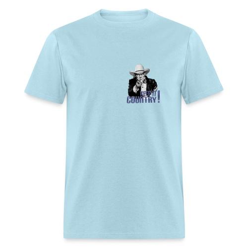 Keep It Country Uncle Sam Denim Font #1 - Men's T-Shirt