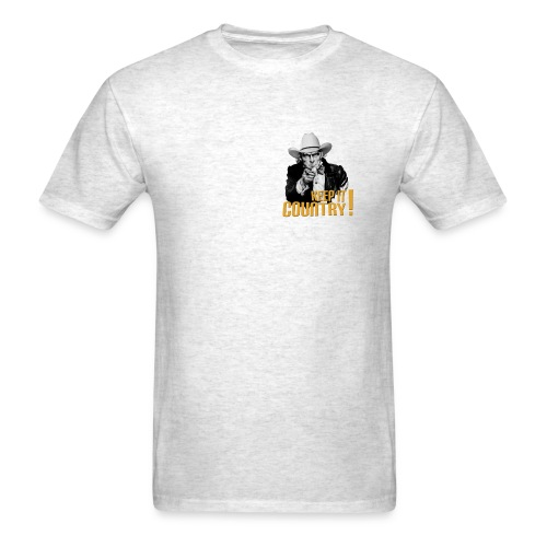 Keep It Country Uncle Sam T #1 - Men's T-Shirt
