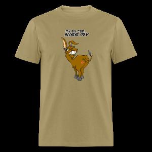 Men's Standard Weight T-Front-KissmyA$$-Male-ex - Men's T-Shirt
