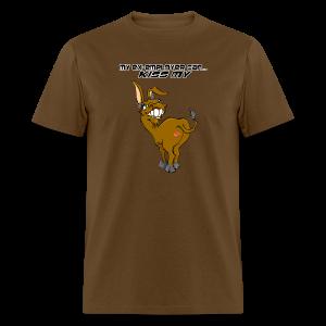 Men's Standard Weight T-Front-KissmyA$$-Male-ex-employer - Men's T-Shirt