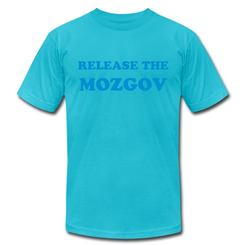 Release the MOZGOV - Men's Fine Jersey T-Shirt
