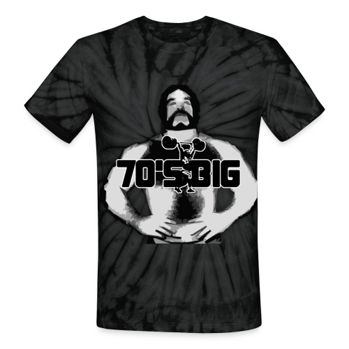 Tie Die Logo  - Unisex Tie Dye T-Shirt