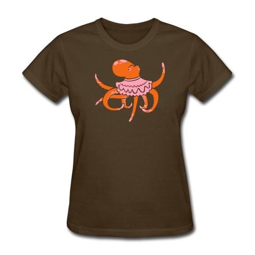 Octopus Ballerina Standard T-Shirt - Women's T-Shirt