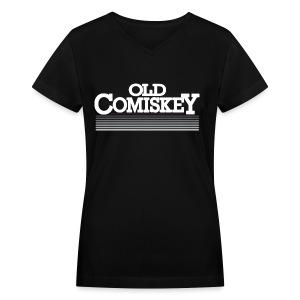 Old Comiskey - Women's V-Neck T-Shirt