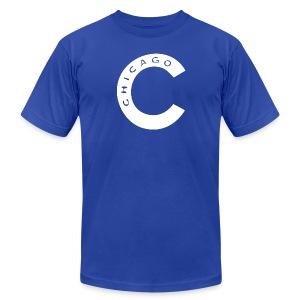 Old Chicago C - Men's Fine Jersey T-Shirt