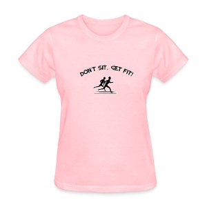 I Love staying Fit - Women's T-Shirt