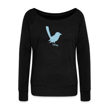 little blue fairy wren Long Sleeve Shirts