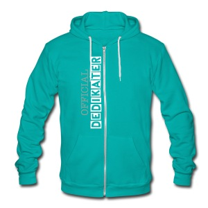 DEDIKATER - Unisex Fleece Zip Hoodie by American Apparel
