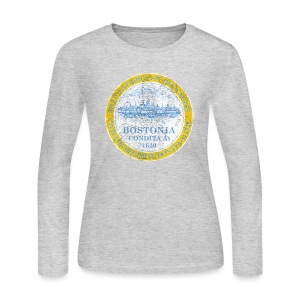Bostonia - Women's Long Sleeve Jersey T-Shirt