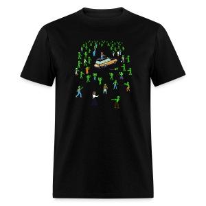 Organ Trail Zombie Horde Shirt - Men's T-Shirt