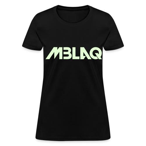 [MBLAQ] MBLAQ Name (Glow in the Dark) - Women's T-Shirt