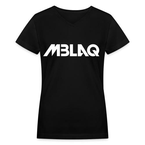 [MBLAQ] MBLAQ Name - Women's V-Neck T-Shirt