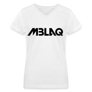 [MBLAQ] MBLAQ - Women's V-Neck T-Shirt