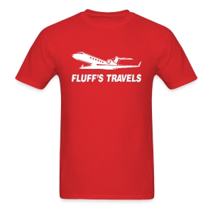 Fluff's Travels - Men's T-Shirt