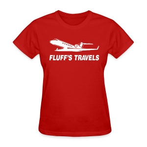 Fluff's Travels - Women's T-Shirt