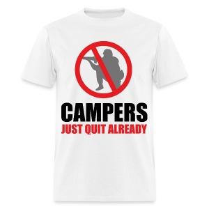 I Hate Camperz - Men's T-Shirt