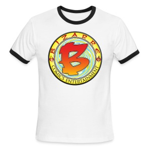 Bizarre Comics Logo - Men's Ringer T-Shirt