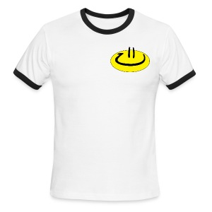 Happyman Logo - Men's Ringer T-Shirt