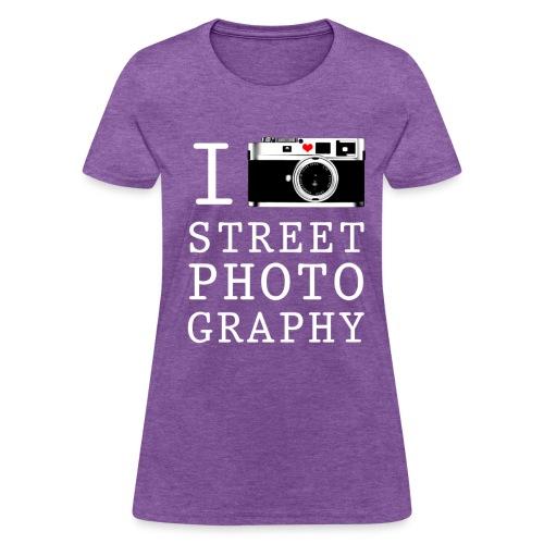 I Shoot Street Photography [Women's] - Women's T-Shirt