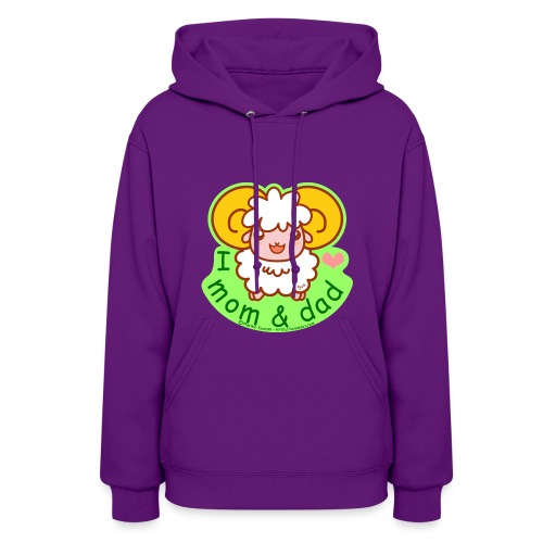 I Love Mom and Dad - Women's Hoodie