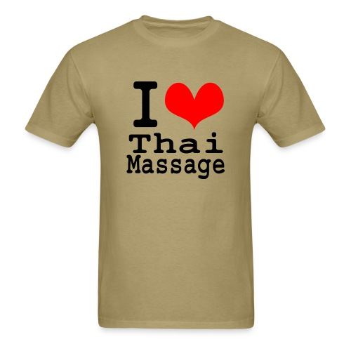 I love Thai massage - Men's T-Shirt
