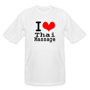 I love Thai massage - Men's Tall T-Shirt