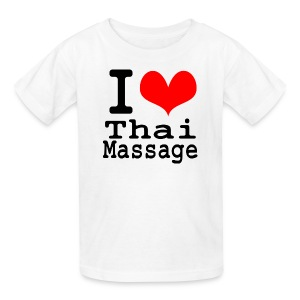 I love Thai massage - Kids' T-Shirt