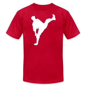 Dizzy Dean Silhouette AA Tee - Men's T-Shirt by American Apparel
