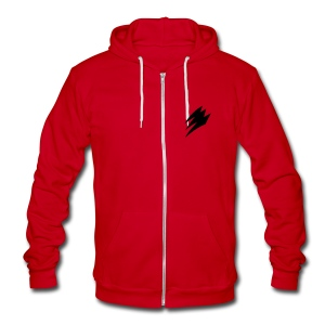 Gekiranger - Fleece Zip Hoody - Unisex Fleece Zip Hoodie