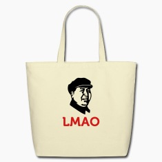 Laughing Mao (2c) Bags