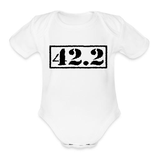 Top Secret 42.2 - Organic Short Sleeve Baby Bodysuit