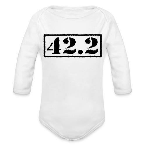 Top Secret 42.2 - Organic Long Sleeve Baby Bodysuit